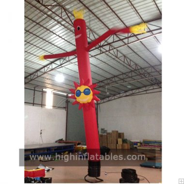 Inflatable sunman air dancer