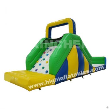 Inflatable forest water slide