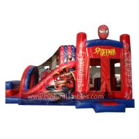 Inflatable spiderman combo