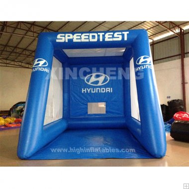 Inflatable speed test