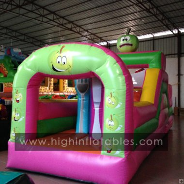 Inflatable fruit obstacle