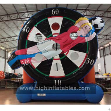 Inflatable football sports