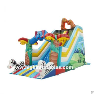 Inflatable Animal slide