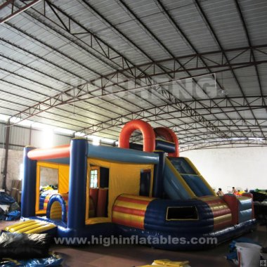 Inflatable tunnel funcity