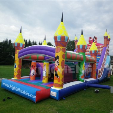 Inflatable mickey obstacle