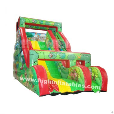 Inflatable Forest slide