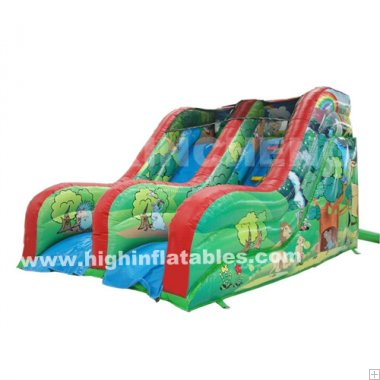Inflatable Forest mini slide