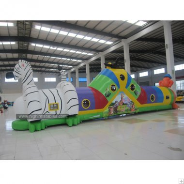 Inflatable horse Tunnel