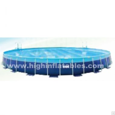 round shape pool