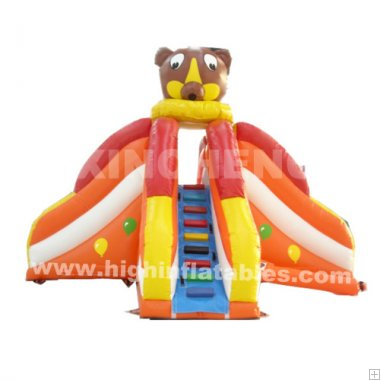 Inflatable mini slide