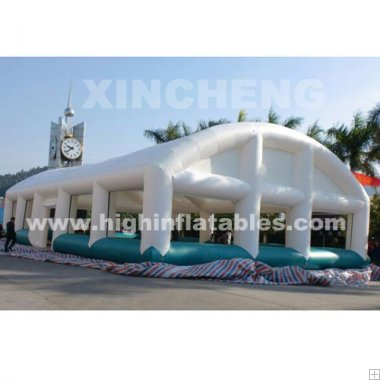 Inflatable sewing house