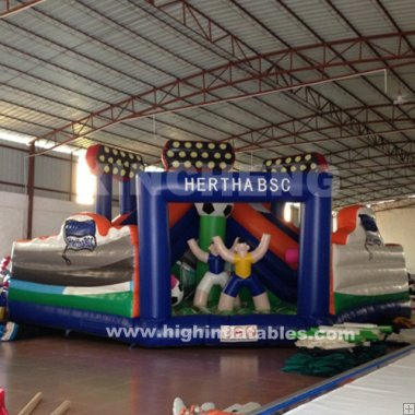 Inflatable football arena
