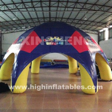 6-foot inflatable tent