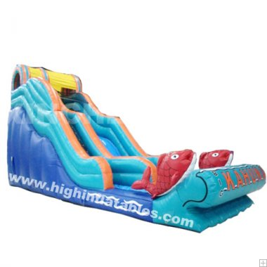 the goldfish inflatable standard slide